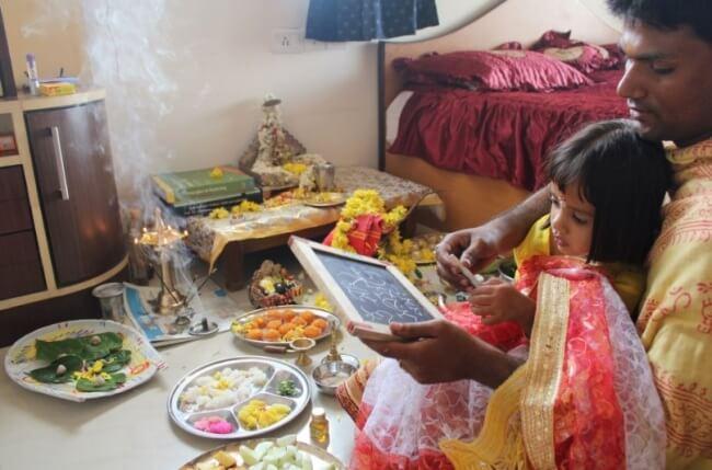 Pandit for Saraswati Puja